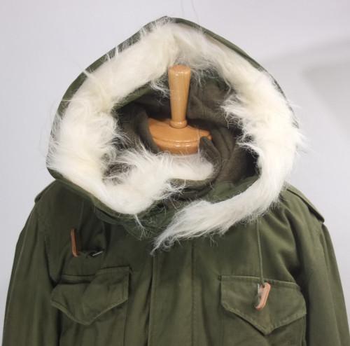 M-65フィールドジャケット・フードの取り付け方